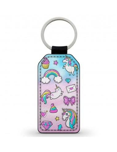 T-Shirt blanc pour enfant fille Bientôt grande soeur licorne