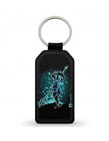T-Shirt noir future grande soeur fleurs bleues